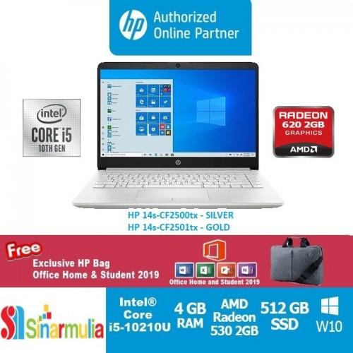 HP 14s-CF2500tx / CF25001tx i5-10210U 512GB SSD 4GB Radeon 630 2GB Win10