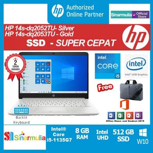 HP 14s-dq2052TU i5-1135G7 512GB SSD 8GB Silver