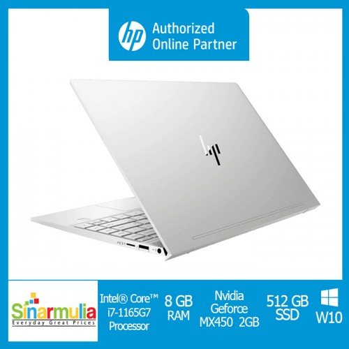 HP ENVY 13-ba1032TX/ba1033TX i7-1165G7 512GB SSD 16GB MX 450 2GB Win106