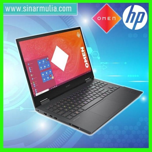 HP Omen 15-en1014AX Ryzen 5-5600H RTX3060 512GB SSD 8GB Win10+OHS3