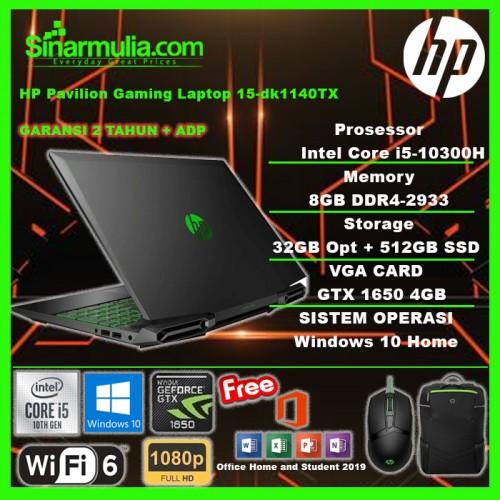HP Pavilion Gaming 15-dk1140TX i5-10300H GTX1650 512GB SSD+32 Opt 8GB