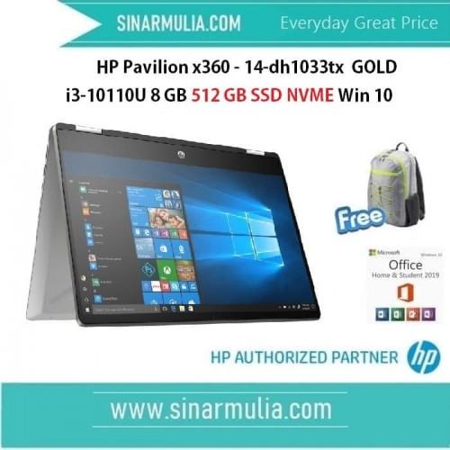 HP Pavilion x360 14-dh1033TX