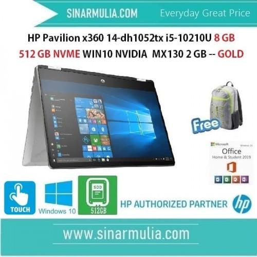 HP Pavilion x360 14-dh1052tx