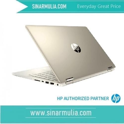 HP Pavilion X360 14-dh1055TX - Gold_2