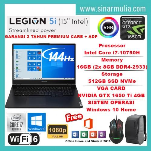 LENOVO LEGION 5i Core i7-10750H 16GB 512GB GTX1650Ti 4GB 144Hz Win101