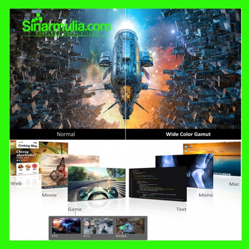 "Monitor Gaming 27"" ViewSonic XG2705-2K 2K QHD IPS 144Hz 131% sRGB 1ms4"