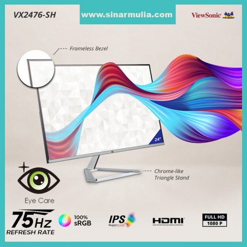 "Monitor LED 24"" ViewSonic VX2476-SH