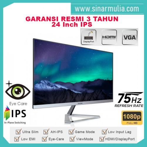 "Monitor LED 24"" ViewSonic VX2476-SMHD|Full HD|IPS|Speaker2"