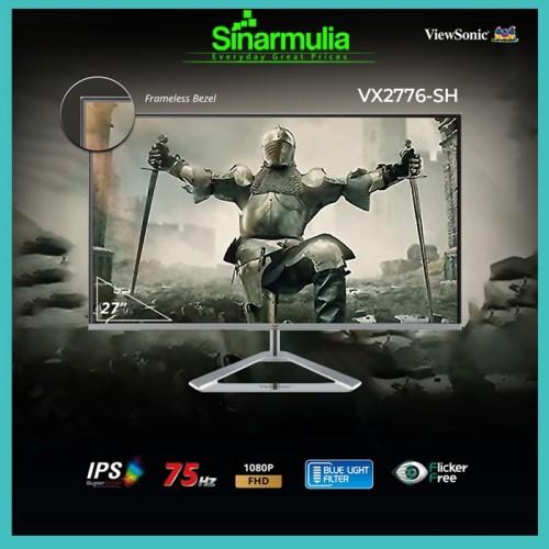 Monitor LED 27 ViewSonic VX2776-SH 75Hz IPS 100% sRGB Full HD