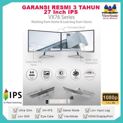 "Monitor LED 27"" ViewSonic VX2776-SMHD  Full HD IPS Speaker7"