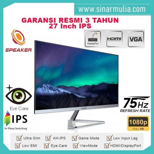 "Monitor LED 27"" ViewSonic VX2776-SMHD  Full HD IPS Speaker2"