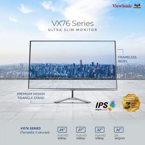 "Monitor LED 32"" ViewSonic VX3276-2K-MHD |IPS|Frameless|HDMI|DP4"