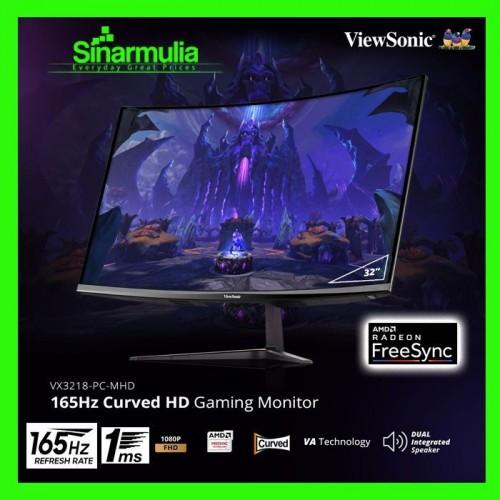 Monitor LED Viewsonic VX3218 PC-MHD 32 Curved 165Hz 1ms 1080p HDMI DP1