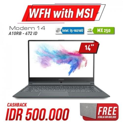 MSI Modern 14 672ID