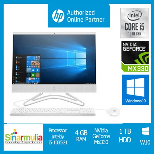 PC AIO HP 24 df0031d 140J9AA i5 1035G1 4GB 1TB MX 330 2GB Win10 Ori2