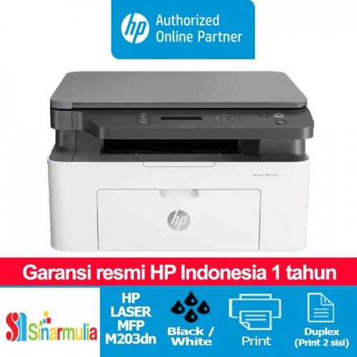 Printer HP LaserJet Pro M203dn Print Duplex Network1