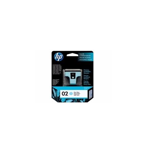 HP 02 Light Cyan Ink Cartridge_2
