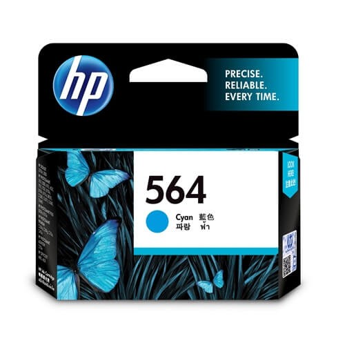 HP 564 Cyan Ink Cartridge