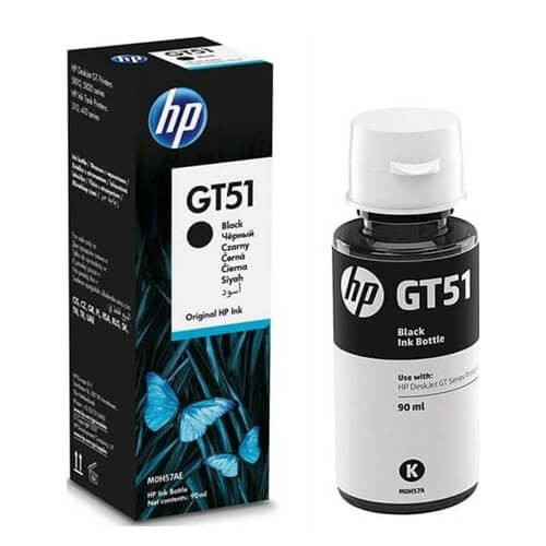 HP GT51 Black Original Ink Bottle (M0H57AA)