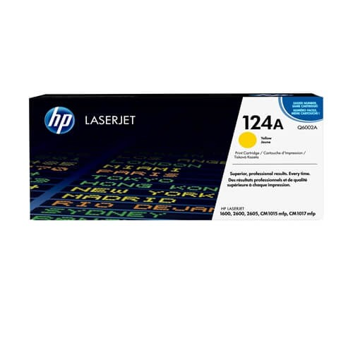 HP 124A Yellow Toner (Q6002A)