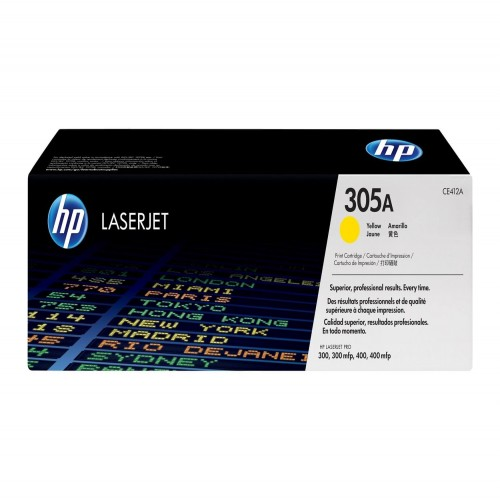 HP 305A Yellow Toner ( CE412A )