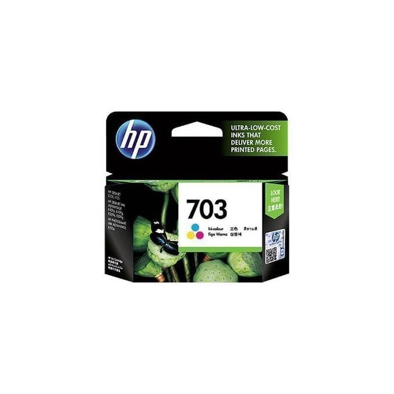 HP 703 Tri-Colour Ink Cartridge