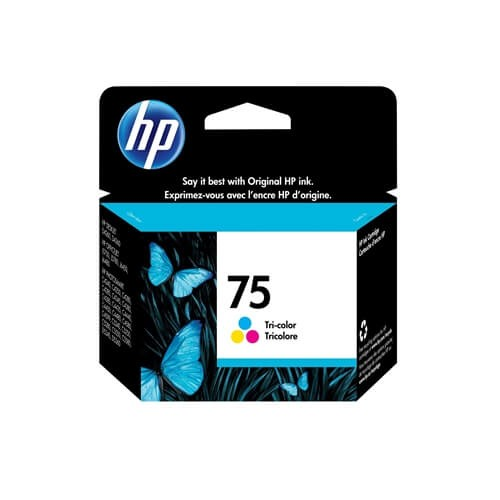 HP 75 Tri-Color Ink Cartridge