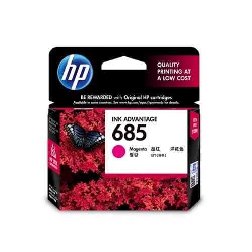 HP 685 Magenta Ink Cartridge