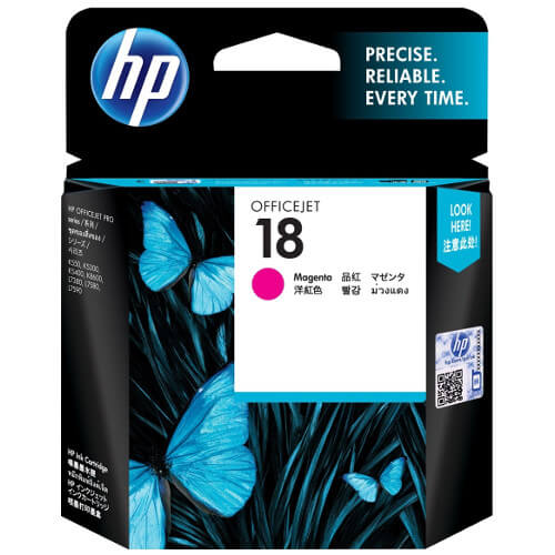 HP 18 Magenta Ink Cartridge