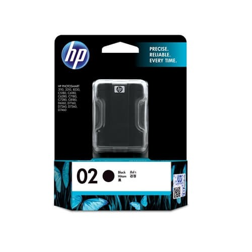 HP 02 Black Ink Cartridge_4