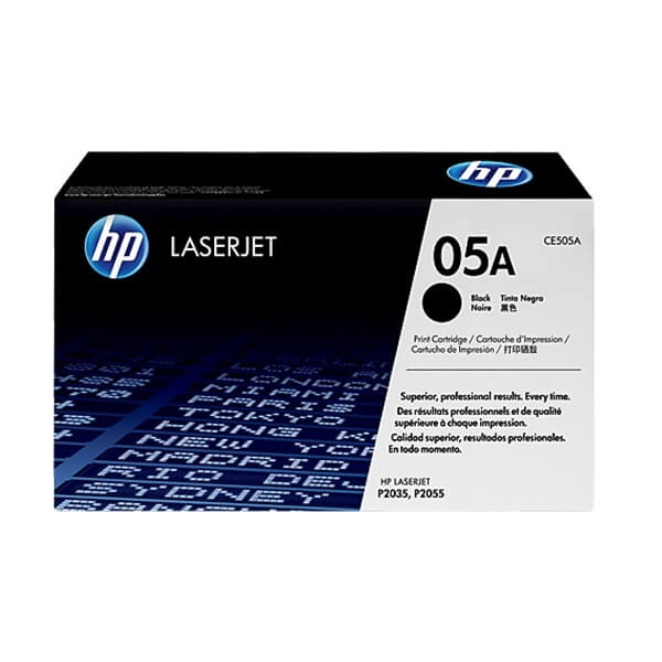 HP 05A Black Toner (CE505A)