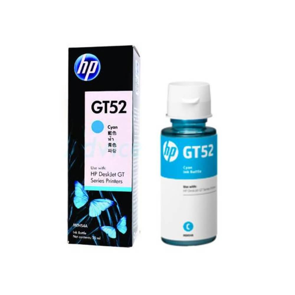 HP GT52 Cyan Original Ink Bottle (M0H54AA)_5