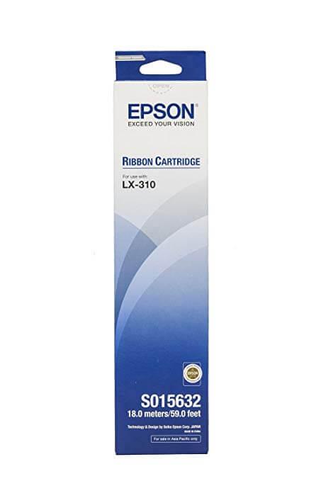 Epson Ribbon Cartridge LX-310 C13S015632 Black