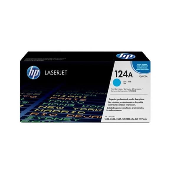 HP 124A Cyan Toner (Q6001A)