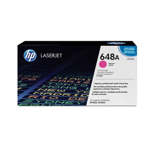 HP 648A Magenta Toner (CE263A)