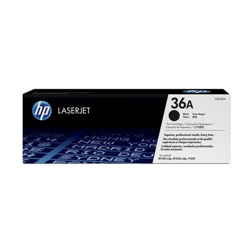 HP 36A Black Toner (CB436A)
