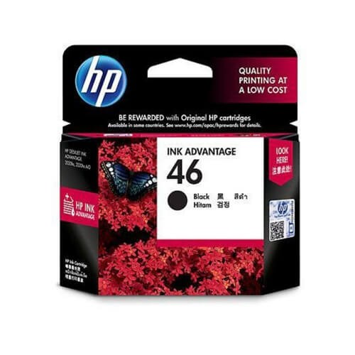 HP 46 Black Ink Catridge_2