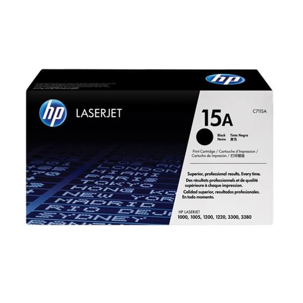 HP 15A Black Toner (C7115A)