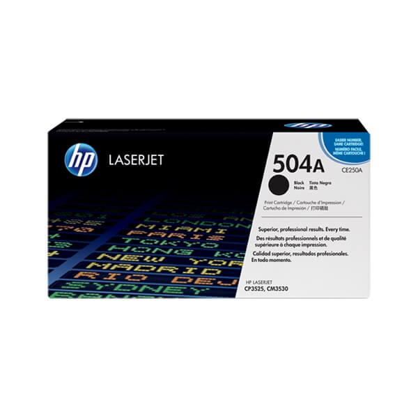 HP 504A Black Toner (CE250A)