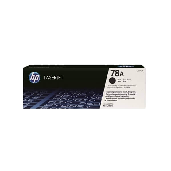 HP 78A Black Toner (CE278A)