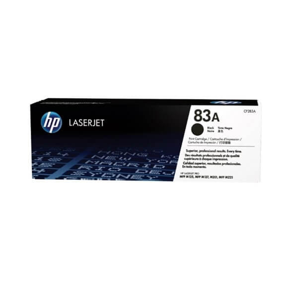 HP 83A Black Toner (CF283A)