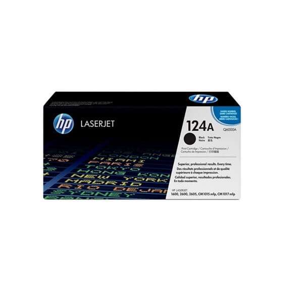 HP 124A Black Toner (Q6000A)