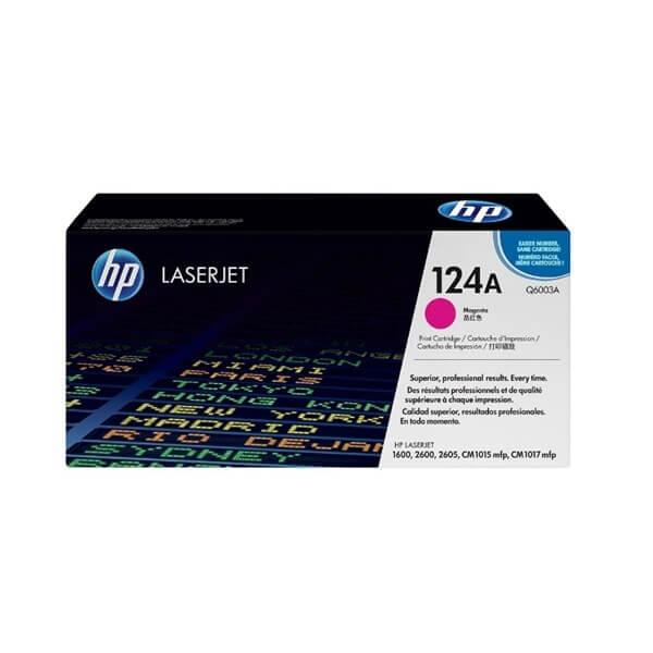 HP 124A Magenta Toner (Q6003A)