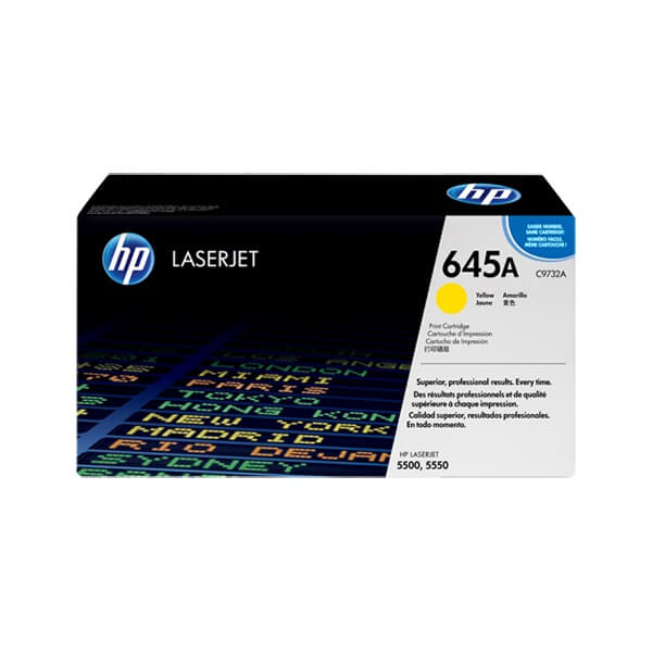 HP 645A Yellow Toner ( C9732A)