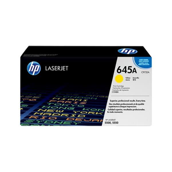 HP 645A Yellow Toner ( C9732A)