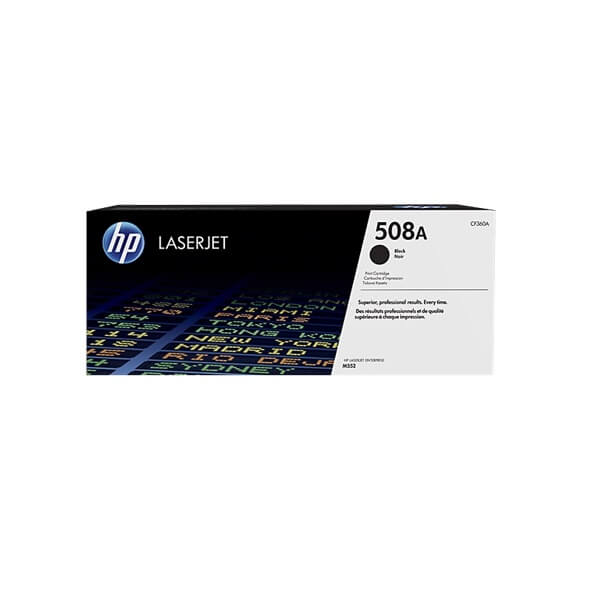 HP 508A Black Toner (CF360A)