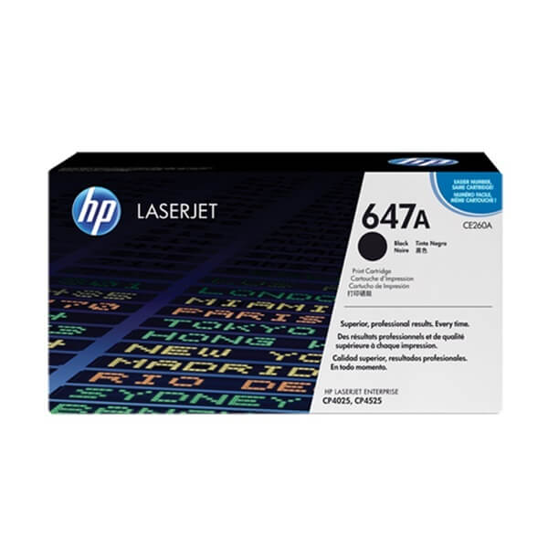 HP 647A Black Toner (CE260A)