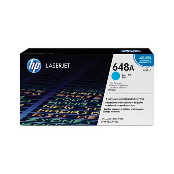 HP 648A Cyan Toner (CE261A)